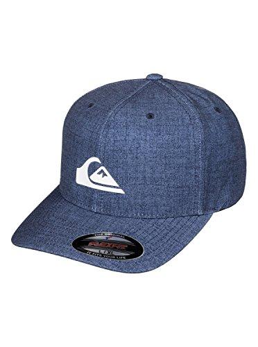 Quiksilver Stretch Hat (Quiksilver Men's Platypus Stretch Hat, Dark Denim, Small/Medium)