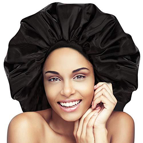 - Noverlife Super Jumbo Sleep Cap, Night & Day Cap for Women Hair Treatment Protect Hair From Frizzing,Turban Headband Soft Comfortable