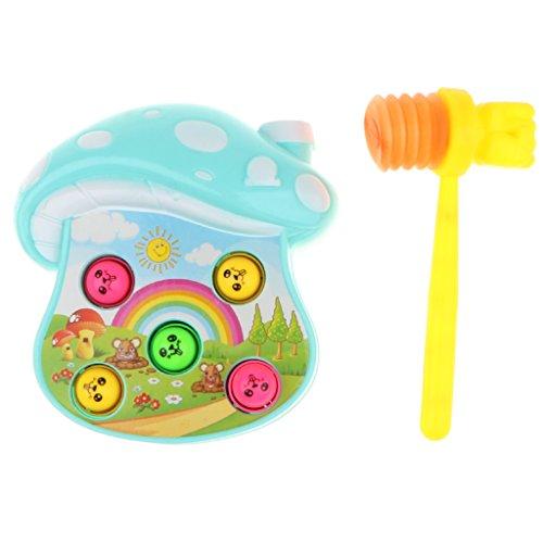 Kesoto プラスチック製 高品質 モグラたたきおもちゃ ボードゲーム モグラたたきゲーム  3色選ぶ - #1