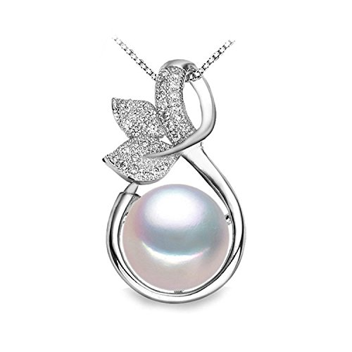 SuperLouisa Fashion fairy Necklace design Pearl Pendant,new,Pearl Silver Necklace Pendant - Co Outlet Tiffany N