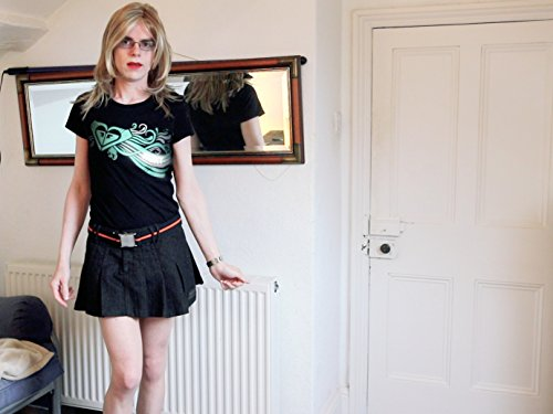 Ep 1 Mini Skirt & Tee with Pantyhose & Black Heels (Heel Alex)
