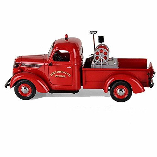 1938 International D-2 Pickup Truck with Brush Fire Body 1/25 by First Gear 40-0338