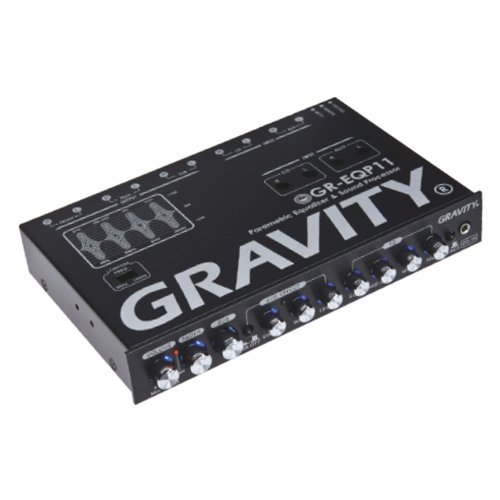 GRAVITY Professional Digital Bass Machine GR-EQP11 - Eq Crossover