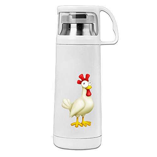 [HAULKOO Chicken Little Stainless Steel Cup Cover Convenient Portable Students Creative Play Lovers] (Board Game Characters Costumes)