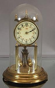 west german kundo brass 400 day anniversary clock - Anniversary Clock