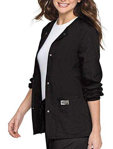 Landau Women's Jewel Neckline Snap Ring Closure Jacket, Robbins Egg, XXXX-Large