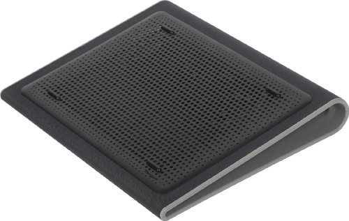 Targus Portable Lightweight Chill Mat Lap for Laptop, Black/Gray (AWE55US) ()