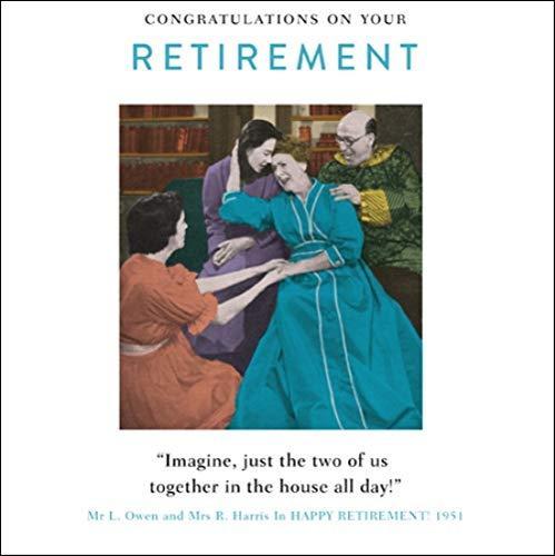 Retirement Congratulations Funny Drama Queen Greeting Card Retro Humour Cards