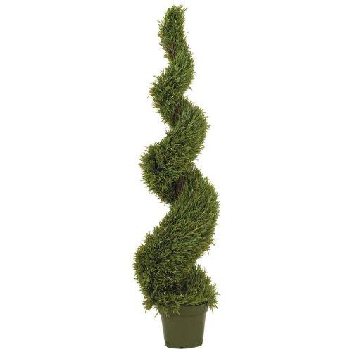 (5 Ft Rosemary Spiral Silk Tree (In-door/Out-door))