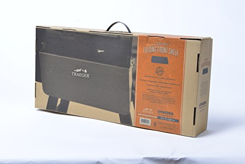 Traeger Folding Front Shelf - 22 Series - BAC362 - Fits 22 Series Models (Does not fit Lil' Tex Elite)