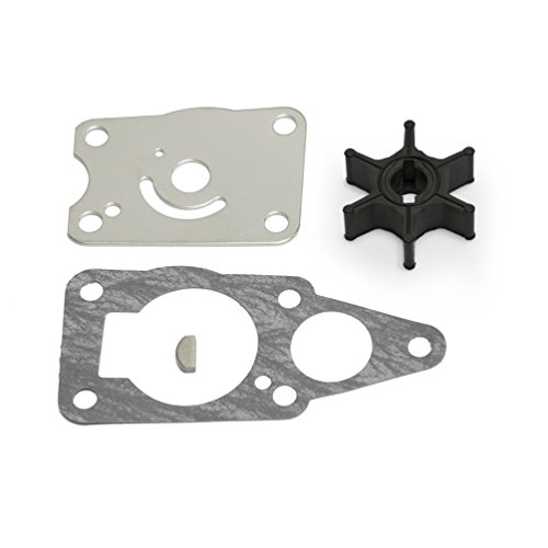 (Full Power Plus Impeller Rebuild Kit Replacement for Suzuki 4HP 5HP DT4 DT5 Outboard Motor 18-3260 17400-98652)
