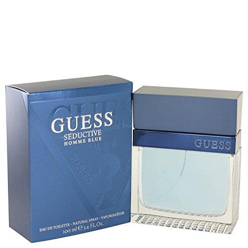 Citrus Eau De Toilette Hugo Men For (Guess Seductive Homme Blue 3.4 Oz Edt Men Spray Cologne New NIB by Nuttakang shop)