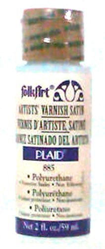 FolkArt Varnish (2-Ounce), 885 (Artists Satin Varnish)