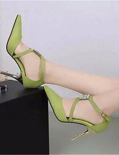 GGX/ Damenschuhe-High Heels-Büro / Kleid-Kunststoff-Stöckelabsatz-Absätze-Schwarz / Grün / Rosa pink-us5 / eu35 / uk3 / cn34