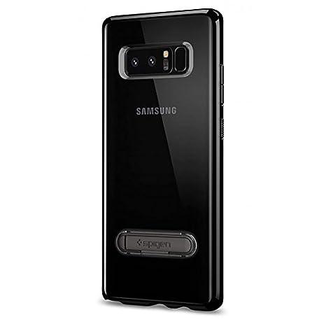 Dok Phone Galaxy Note 8 - Carcasa Transparente Negro: Amazon ...