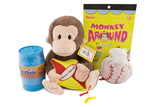 Curious George Gift Combo | Kite Curious George Plush 11.5