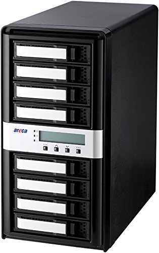 Areca ARC-8050T3-8 (8-Bay Thunderbolt 3 RAID Hard Drive Enclosure) by Areca