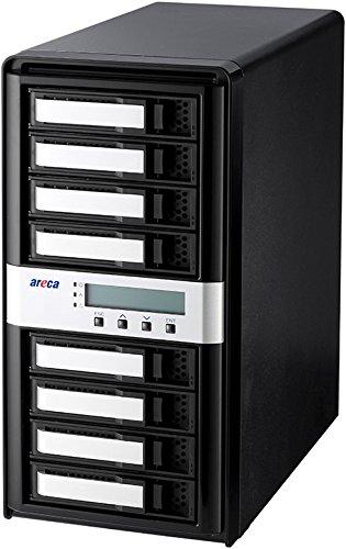 Areca ARC-8050T3-8 (8-Bay Thunderbolt 3 RAID Hard Drive Enclosure)