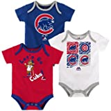 Chicago Cubs Baby / Infant Go Team 3 Piece Creeper Set