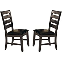 Milton Greens Stars Alicante Dining Chair, Gray, Set of 2