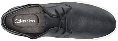Calvin Klein Men's Parker Smooth Oxford Sneaker