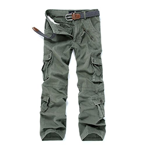 GBSELL-New-Mens-Cotton-Casual-Pant-Military-Cargo-Camouflage-Trousers