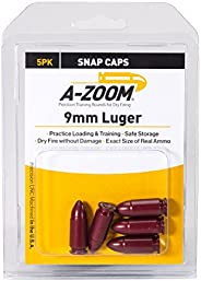A-Zoom 9mm Luger Precision Snap Cap 5 Pack