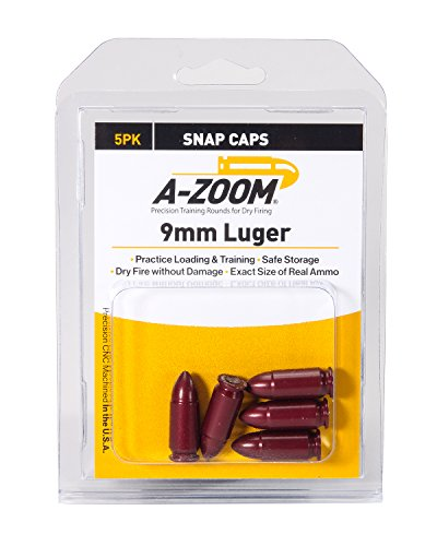 A-ZOOM 15116 9mm Luger Precision Snap Cap 5 ()
