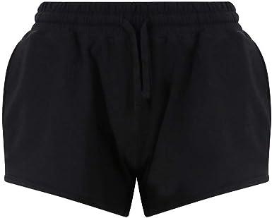 AWDis - Pantalón Corto - Straight - Manga Larga - para Mujer ...