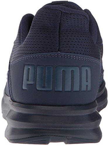 PUMA Mens Enzo Street Sneaker Peacoat-sargasso Sea dzxQRMZ