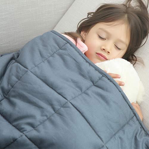 Amy Garden 7 Layers Boys & Girls 100% Cotton Preminum Weighted Blanket (40