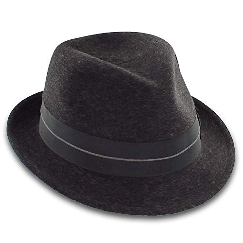 543419ad8fad9 Handmade for Belfry Designer Exclusive 100% Wool Fedora Hat Made in The USA  (Small