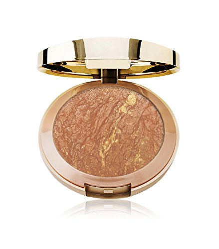 Milani Baked Bronzer - Glow (0.25 Ounce) Cruelty-Free Shimmer Bronzing Powder to Shape, Contour & Highlight Face