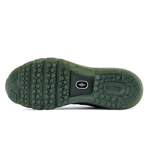 Chaussures Vert Sport Onemix New Hommes Baskets Course Pied Olive Air Wave De 1vnYTqw
