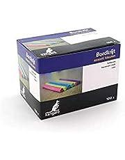 Krijt Kangaro gesorteerde kleuren doos 100 stuks, K-N100C