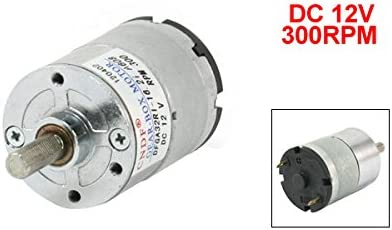 31kg.cm motor de par 6mm eje magnético orientado 5RPM 50mA 12V DC Uxcell R