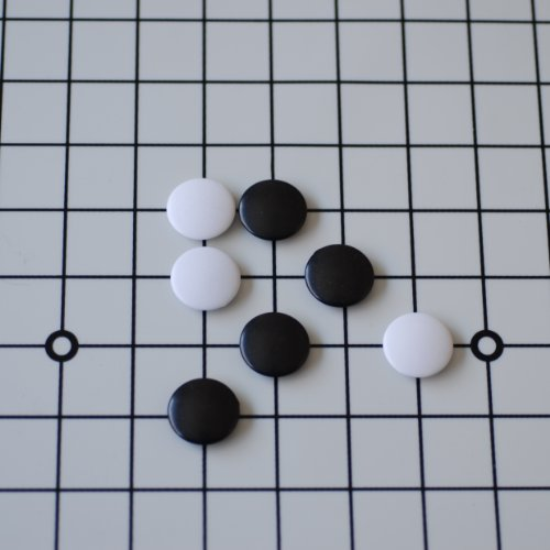 WE Games GO Stones - Large Size Made of ABS Plastic by WE Games