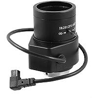 uxcell® 2.8mm-12mm 1/3 Format F1.4 Aperture CS Mount Auto Iris CCTV Camera Lens