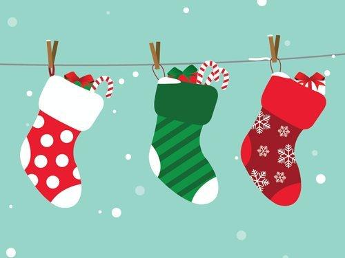 Amazon eGift Card - Happy Holidays (Stockings)