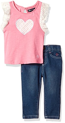 Limited Too Baby Girls Fashion Top And Pant Set  Medium Pink  18M