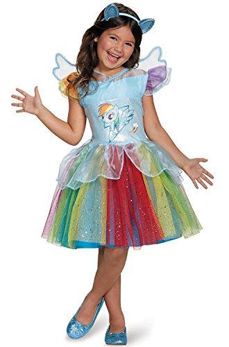 (Rainbow Dash Tutu Deluxe My Little Pony Costume,)