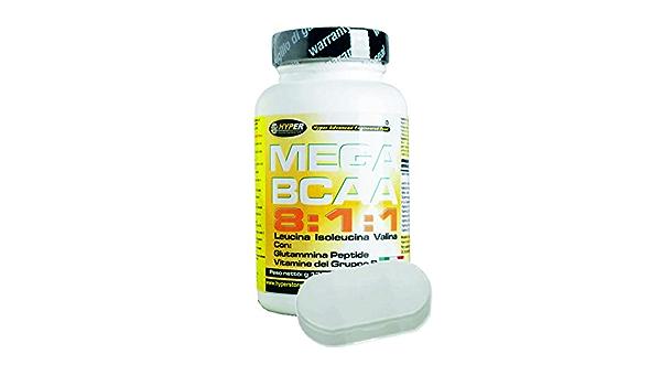 BCAA 8:1:1 Aminoácidos Ramificados + Titular de pastillas con ...