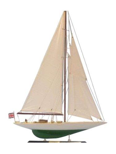 Hampton Nautical  Shamrock Sailboat, Limited Edition, 27'