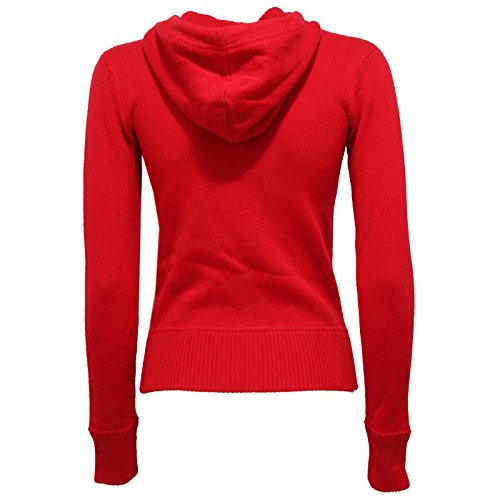 Wool Donna Red Woman Sweater Lauren 9573v Ralph Rosso Maglione Cashmere YxqfgAO