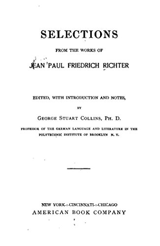 Get e-book Works of Jean Paul