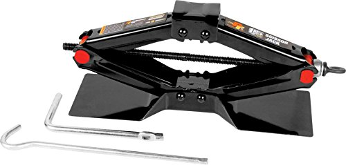 Performance Tool W1600 1-1/2 Ton (3,000lb) Capacity Scissor Jack, 4