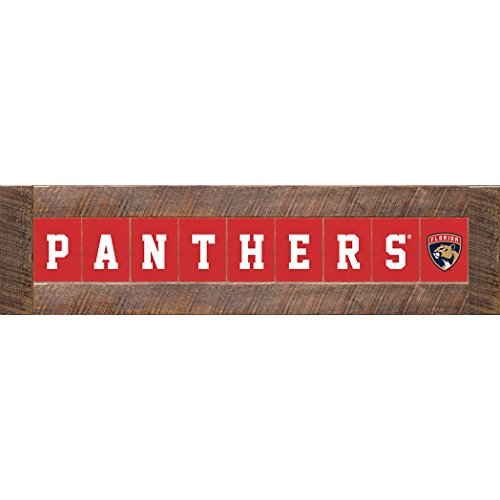 "NHL Florida Panthers Marlin Classic Decorative Sign, 12"" H x 46.5"" W"