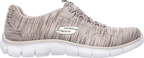 Skechers Femme Empire Basses Take Taupe Baskets Charge Noir BvpnBrq