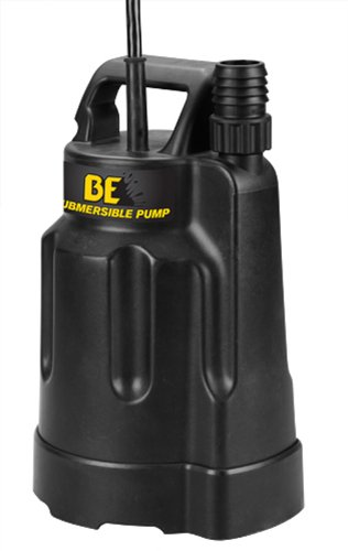 B E Pressure SP-500TD 3/4'' Top Discharge Submersible Pump, 1/4 hp, 115V, 60 Hz by B E Pressure