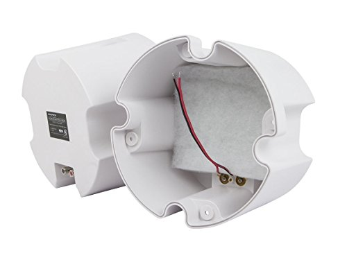 Monoprice ABS Back Enclosure (Pair) for PID 4103, 6 1/234; Ceiling Speaker by Monoprice